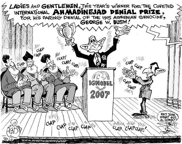 bush cartoon