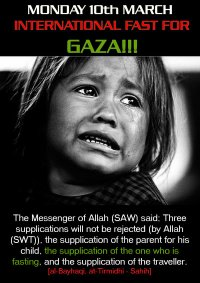 gaza fast