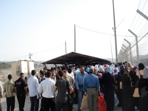 Huwwara Checkpoint, Nablus (fall 2008)