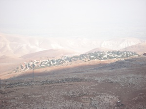 illegal Israeli settlement Beit Efraim