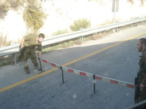 Flying Checkpoint, Jenin (fall 2007)