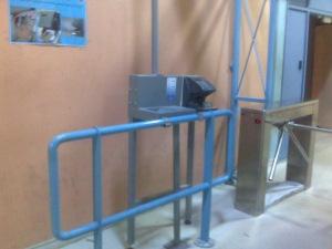 Handprint Detector, Bethlehem Checkpoint (fall 2007)