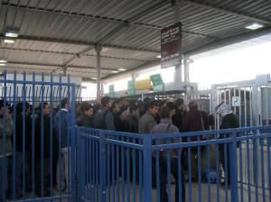 New Qalandia Checkpoint (winter 2006)