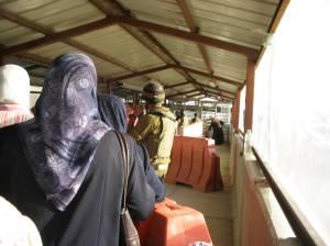 Qalandia Checkpoint, summer 2005