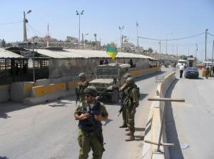 Qalandia Checkpoint (fall 2005)