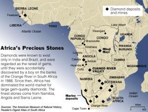 africa-diamonds-map