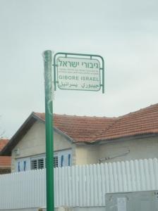 """""""the heroes of israel street,"""" lydd, palestine"""