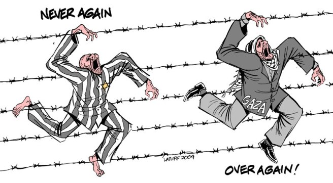 "carlos latuff ""holocaust remembrance day"""