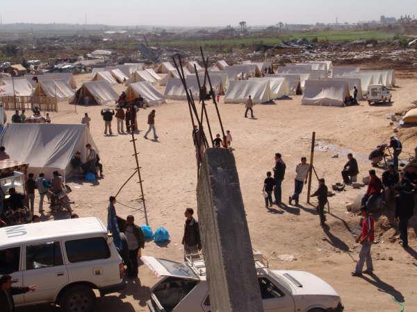 new gaza refugee camp 2009