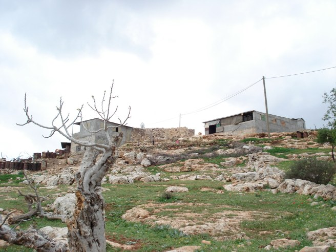 palestinian home in aqraba