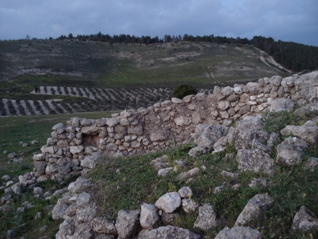 ruins of deir rafat