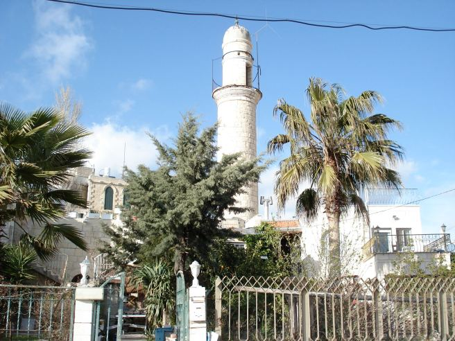 malha mosque where israeli colonists now live inside