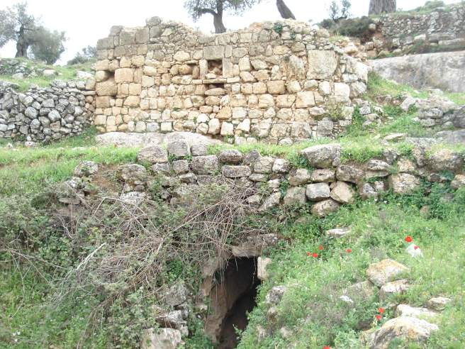 an old palestinian home in the hills close to kufr 'ain