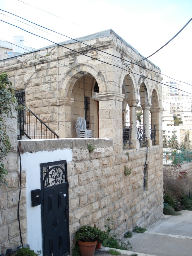 palestinian home in malha