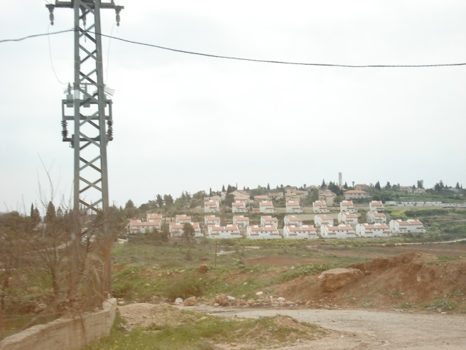 israeli terrorist colony near kufr 'ain