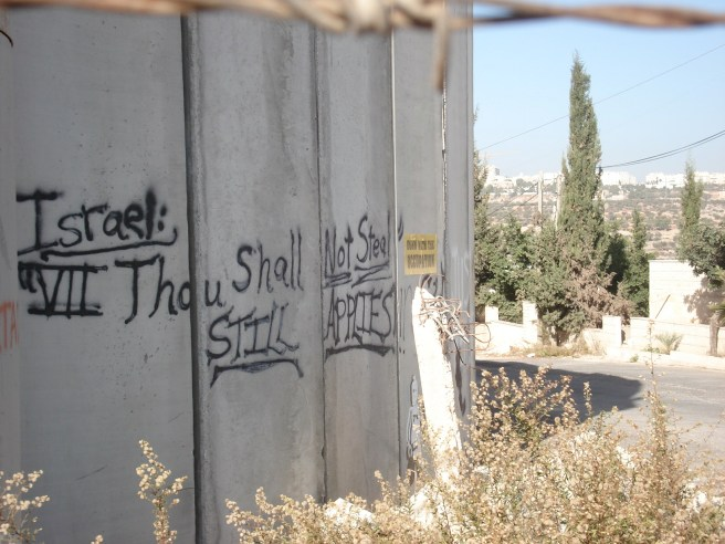 beitlahem apartheid wall graffiti