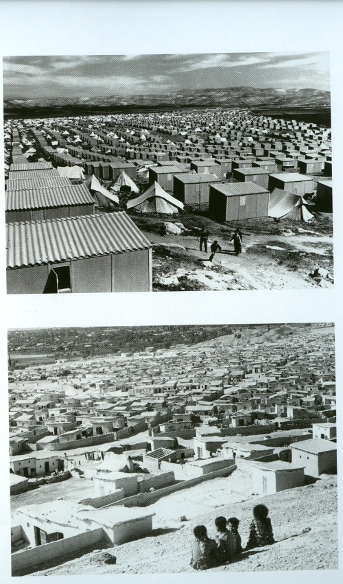palestinian refugee camps: baqaa in jordan and deheishe in palestine 1960