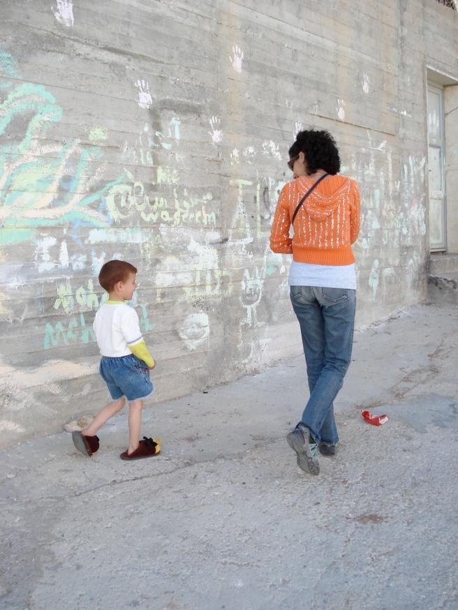 suheir hammad in aida refugee camp