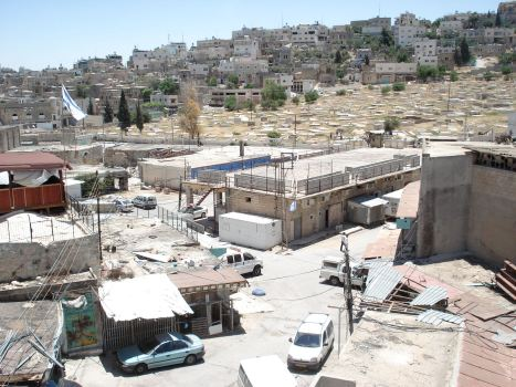 zionist terrorist colonies taking over family's house in khalil