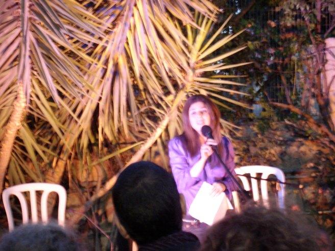 nathalie handal reading a poem for mahmoud darwish