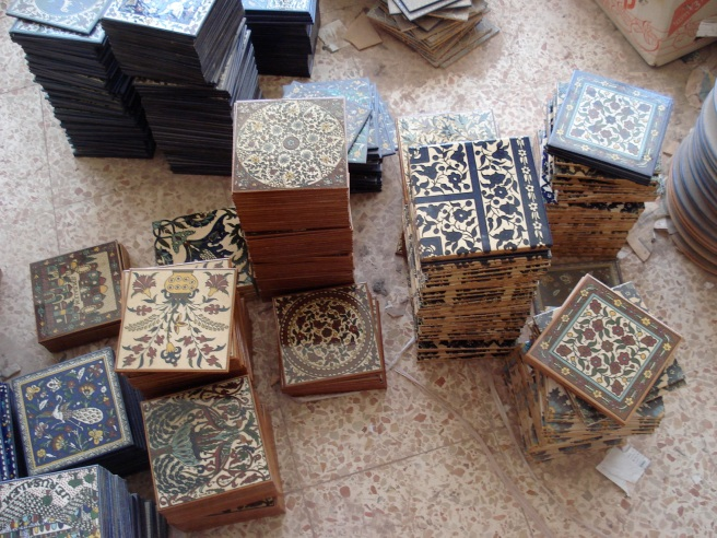 palestinian pottery factory in khalil