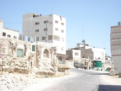 palestinian homes demolished with another israeli terrorist checkpoint