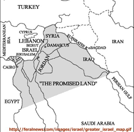 greater israel map fantasy