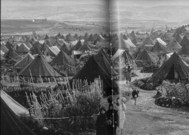 palestinian refugee camp nahr el bared, lebanon, 1949