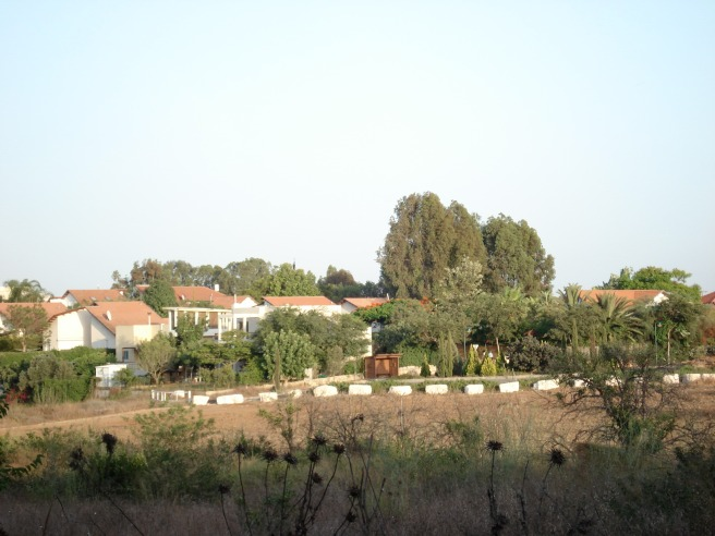 gederot settlement on the land of qatra