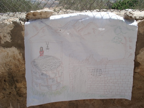 drawing from the life in palestine before an nakba workshop