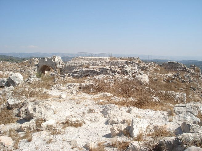 the ruins of beit itab